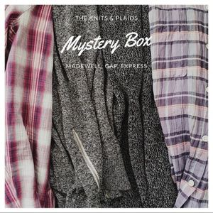 4 pc. Mystery Box | Madewell, Express, Gap